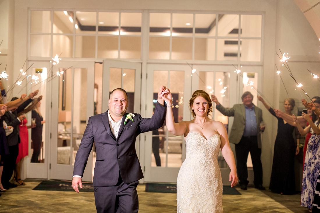 Palmetto Club Wedding Reception. Tampa Wedding Photographer
