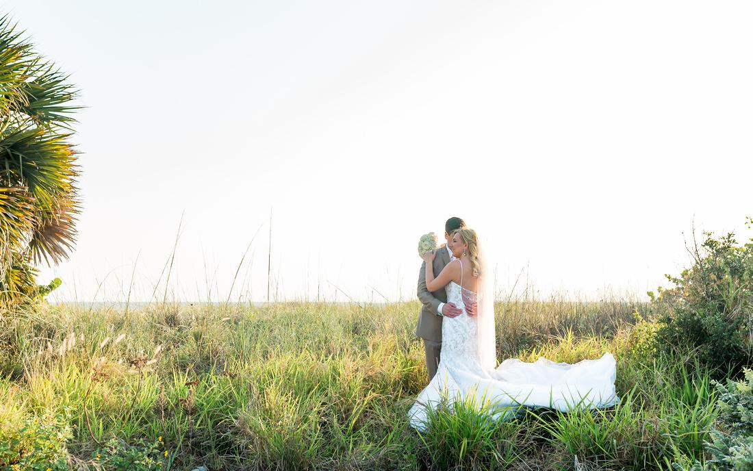 Wedding day photos. Bride and Groom. Destination wedding in Tampa, FL.