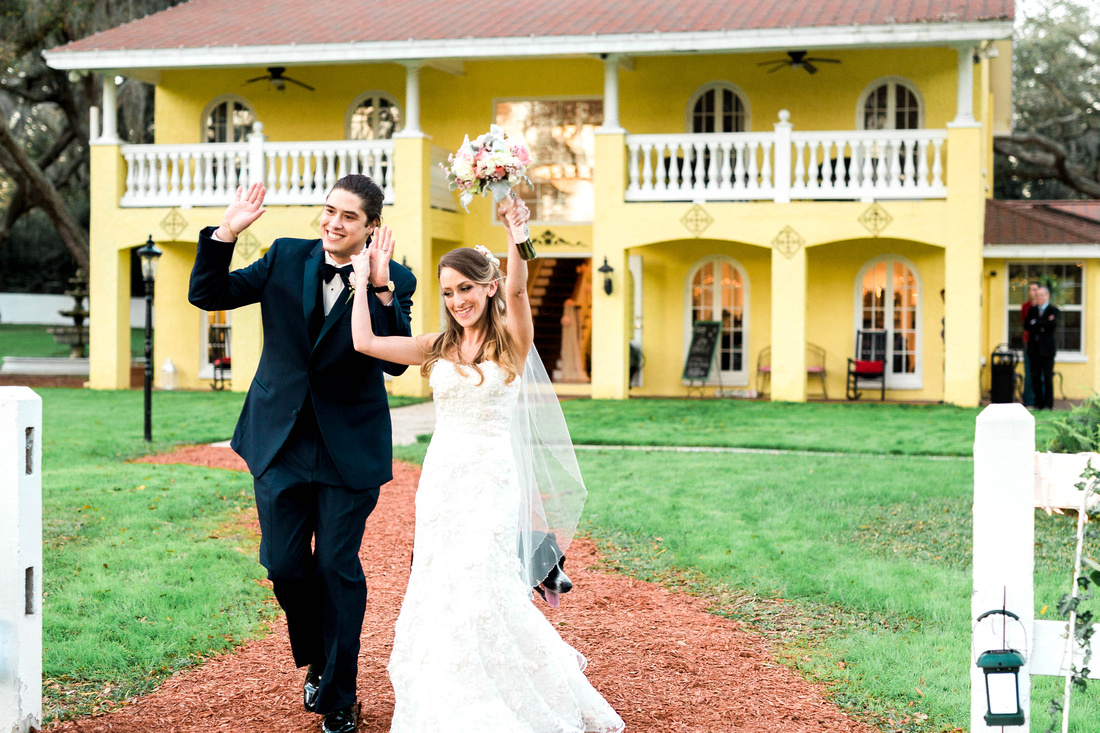 Casa Lantana Wedding. Outdoor wedding. Intimate wedding. Florida wedding. Tampa wedding venue. Tampa wedding photographer.
