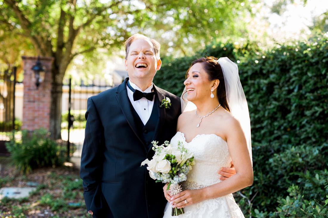 Hunter's Green wedding reception. Tampa wedding photographer. Bridal party photos.