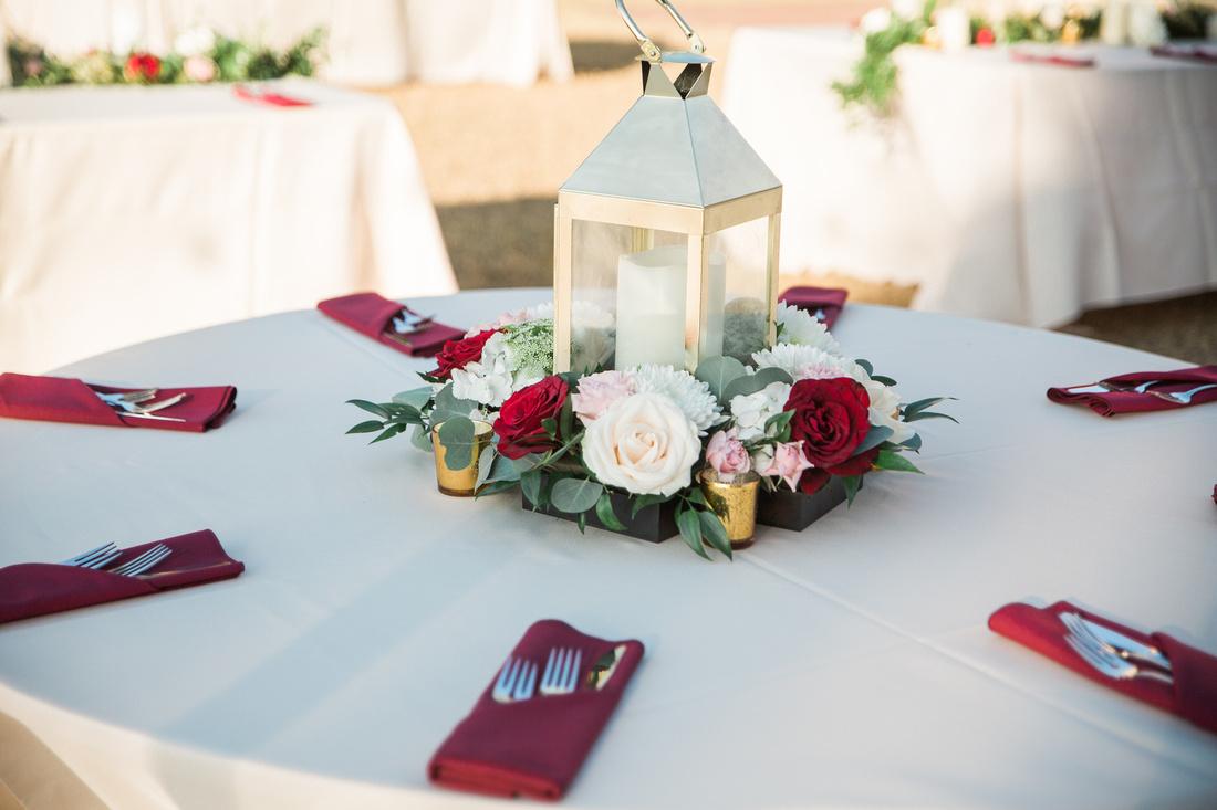 Powel Crosley Estate wedding. burgundy, pink and white wedding decor. Tampa wedding photographer.