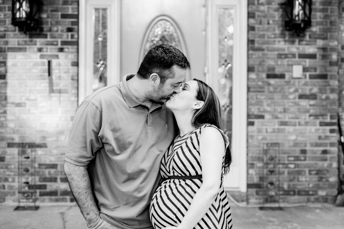 Family style maternity photos