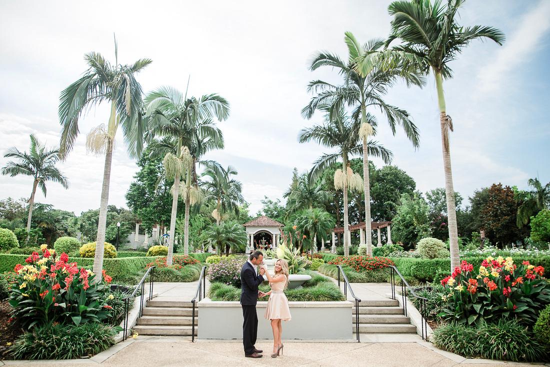 Hollis Gardens engagement photo in Lakeland, Florida