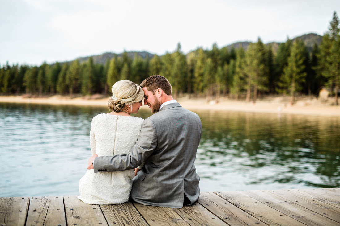 Lake Tahoe engagement session by Rising Lotus Photography
