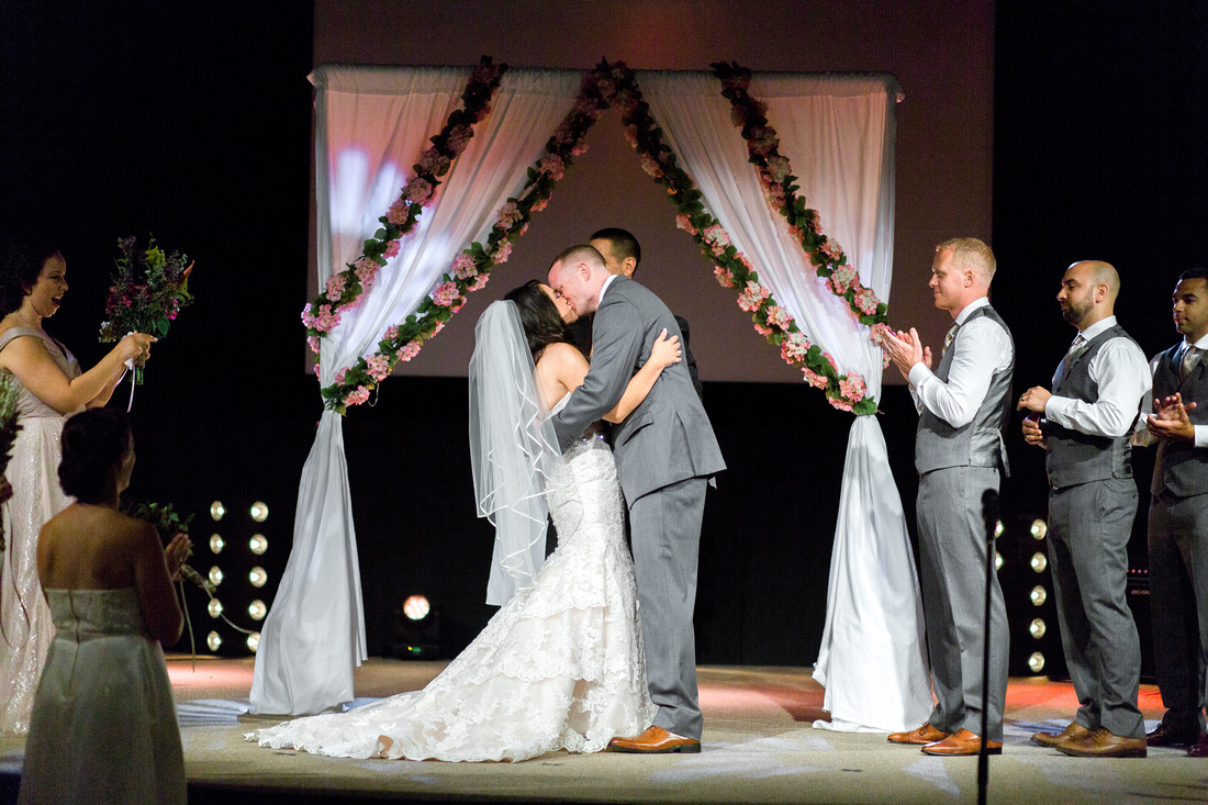 Church wedding ceremony in Tampa