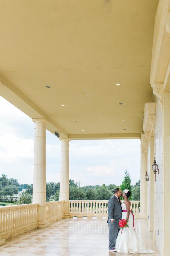 Bride and groom's newlywed photos, Tampa wedding photographer