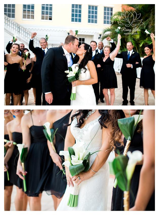 Classic Wedding at The Club at Treasure Island. Tampa Wedding Photographer