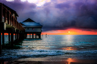 Pier 60 Clearwater Beach Sunset - Rising Lotus Photography by Marilyn Shamblin