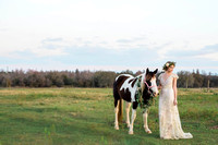 Published wedding photographer, top wedding photographer, award winning wedding, boho chic wedding, style bride, boho bride, couture wedding gown, hipster wedding, horse farm wedding, horse and bride