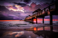 Sunset Pier 60- Clearwater, Florida by Rising Lotus Photography by Marilyn Shamblin