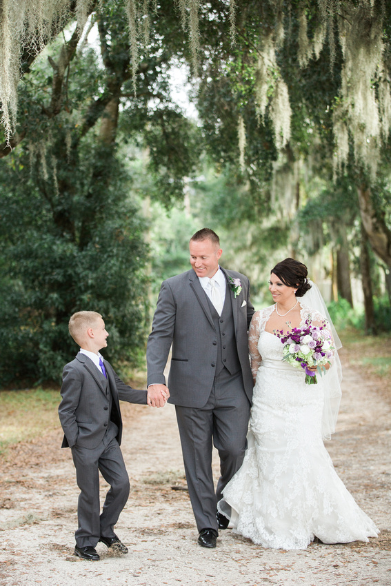 Newlyweds create a blended family as captured by Rising Lotus Photography.