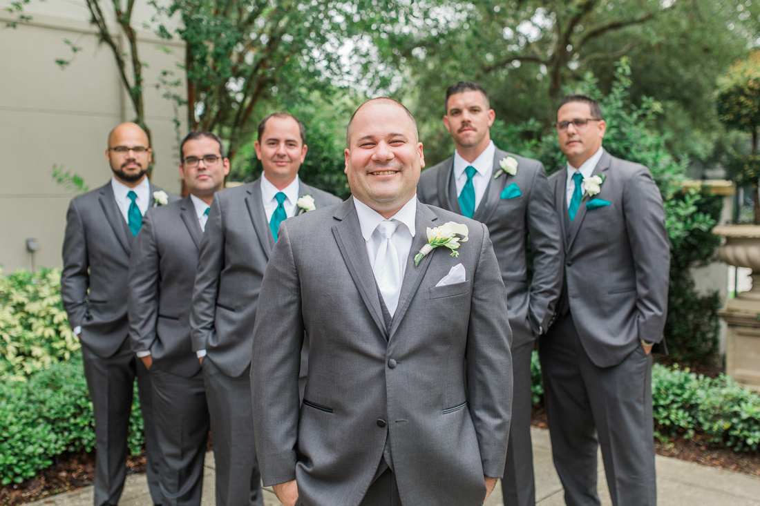 The Palmetto Club at Fishhawk Ranch Wedding.Bridal Party Photos. Tampa Wedding Photographer