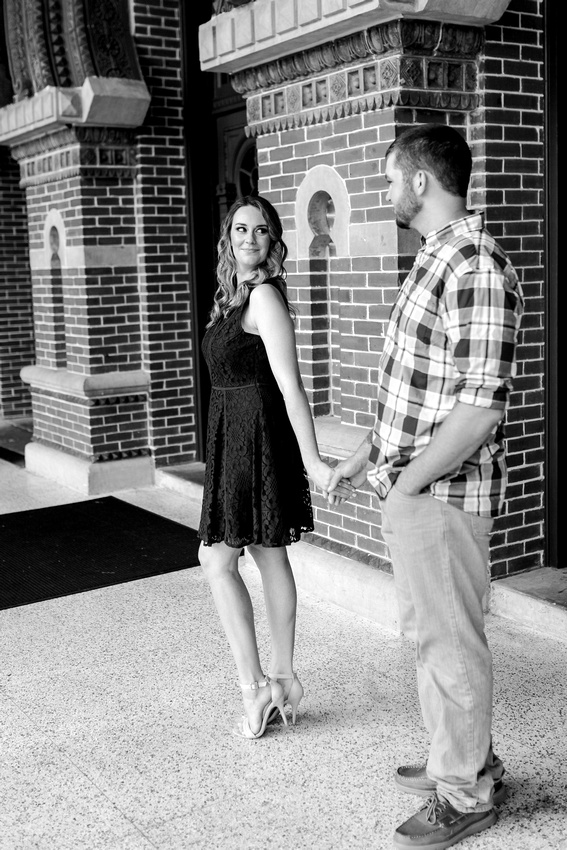 Tampa engagement photographer. Engagement photo locations in Tampa. University of Tampa