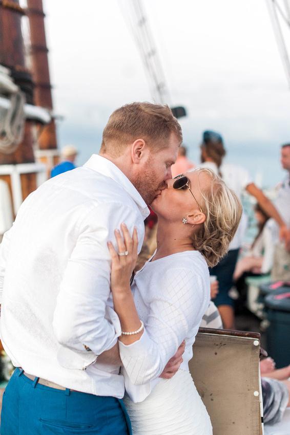 Sunset Sail in Key West, Sunset Wedding in Key West, Key West Wedding, Destination Wedding, Key West Wedding Photographer