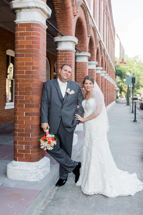 Italian Club Ybor City, Wedding Photos, Tampa Wedding Photographer, Newlyweds