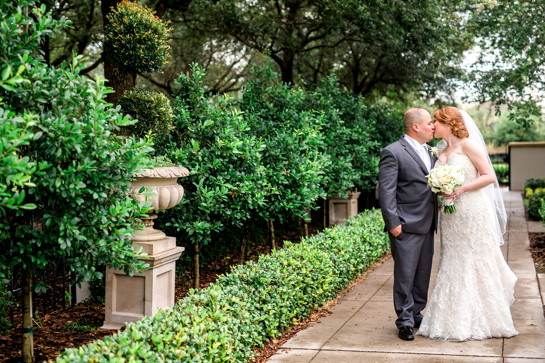 The Palmetto Club at Fishhawk Ranch Wedding. Bride and Groom Photos. Newlyweds. Tampa Wedding Photographer.