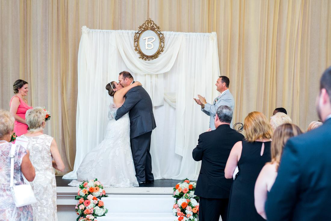 Italian Club Ybor City, Wedding Ceremony, Tampa Wedding Photographer