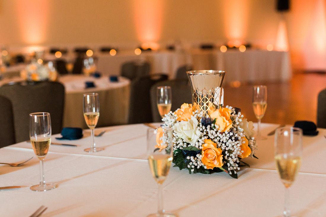 Unique wedding details. Wedding at The Regent.
