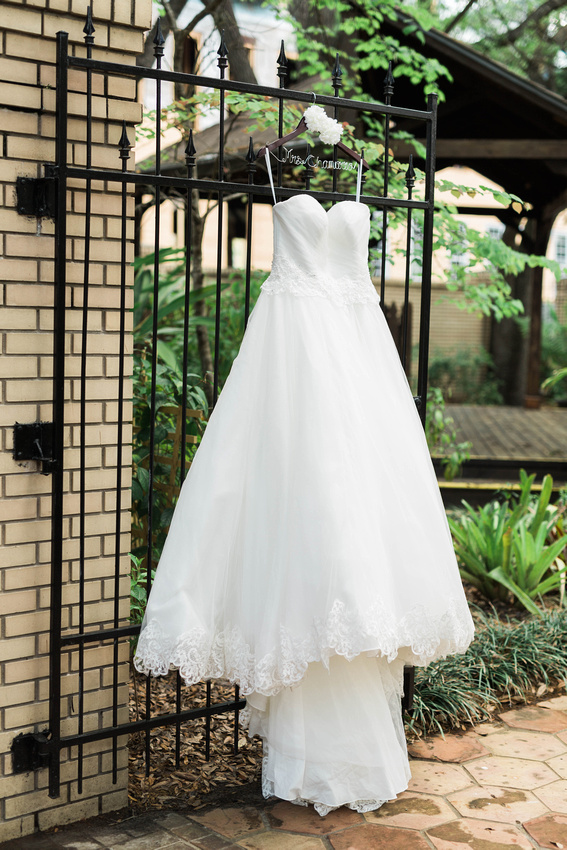 Ybor City Museum Garden Wedding. Tampa Wedding