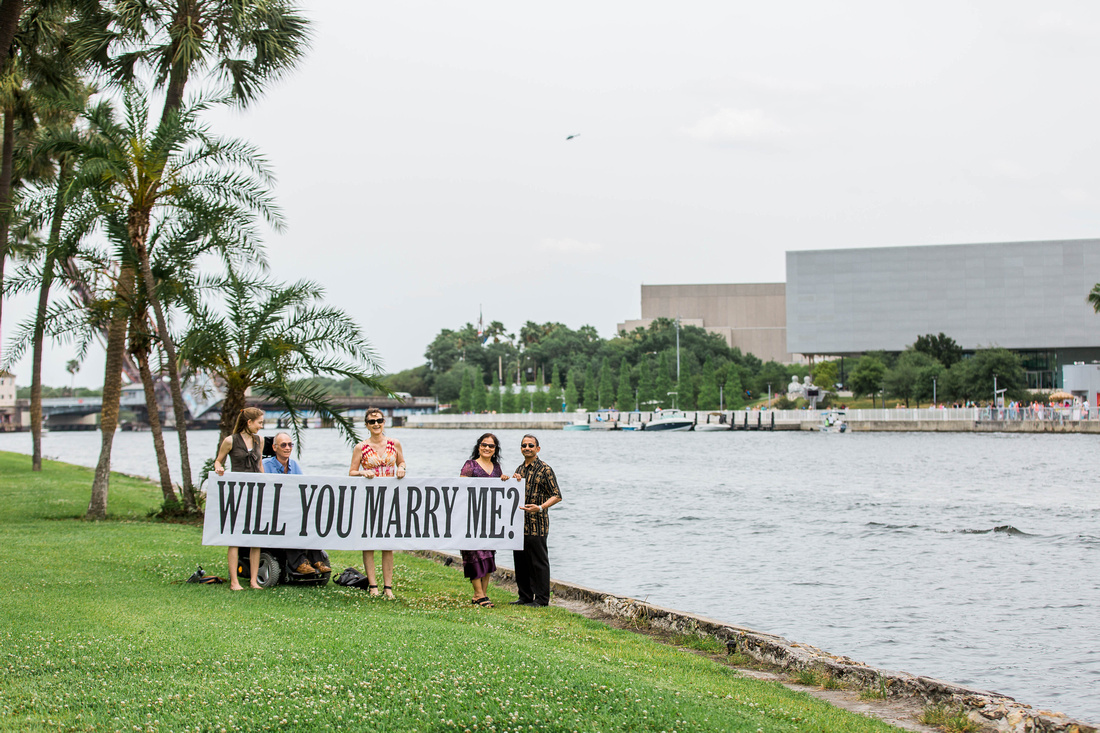 Proposal Photos. Downtown Tampa Proposal. Proposal Photography. Tampa Proposal Photographer