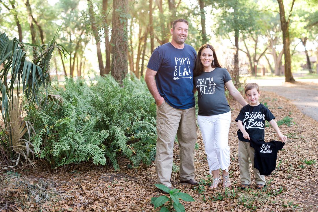 Family style maternity photos