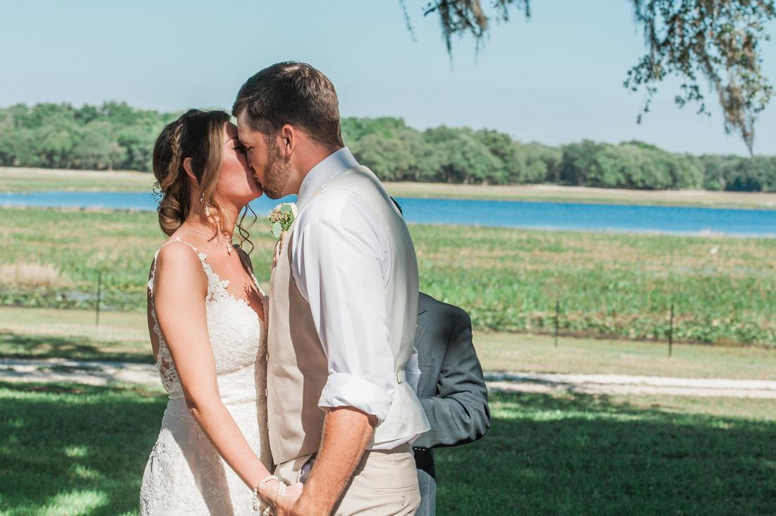 Romantic, horse ranch wedding at Lakeside Ranch in central Florida