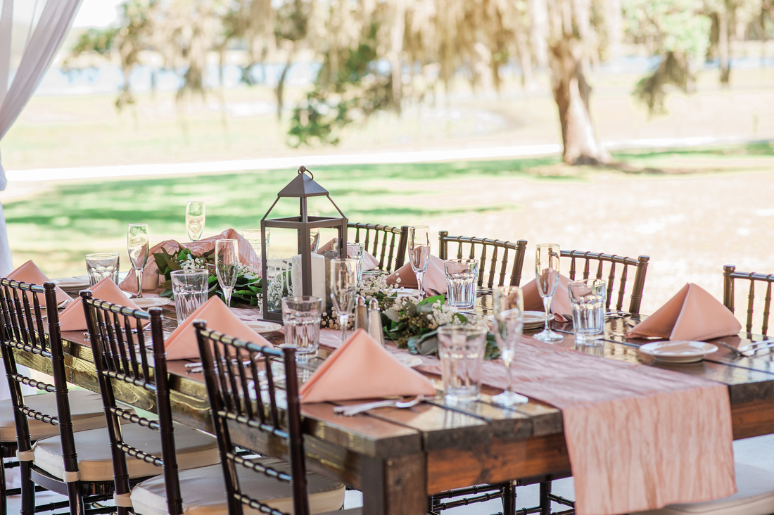AC 190 Central Florida Wedding Venue Lakeside Ranch Rustic Chic Details With Lots Of Greenery