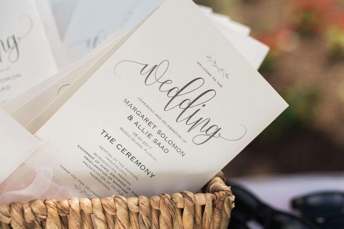 Destination weddings in Marco Island