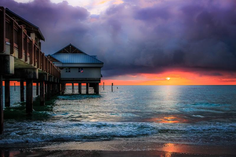 rising lotus photography sunset prints pier 60