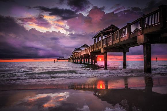 rising lotus photography sunset prints sunset pier 60