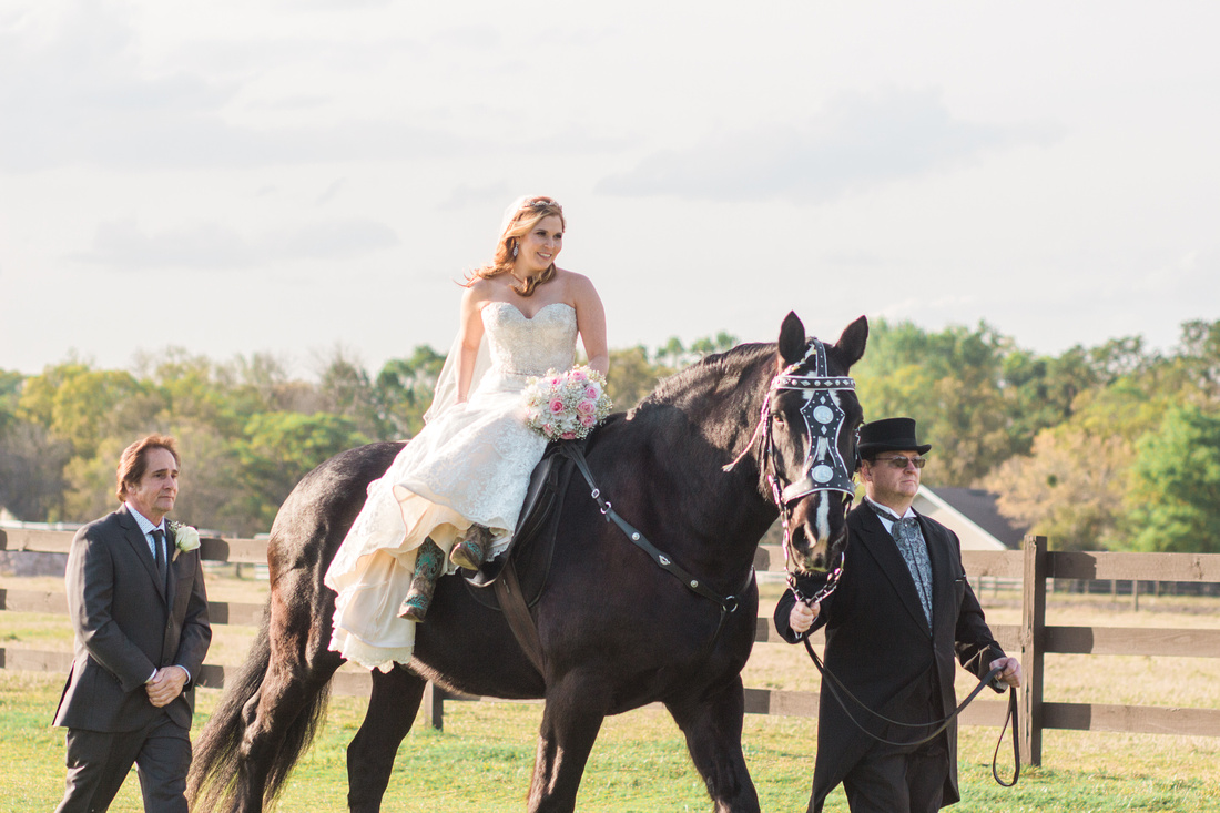 Wishing Well Barn wedding ceremony