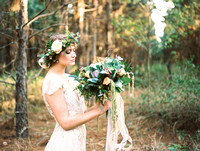 Countryside boho chic wedding
