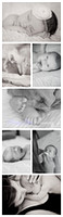 Black & White Newborn Photography Collection