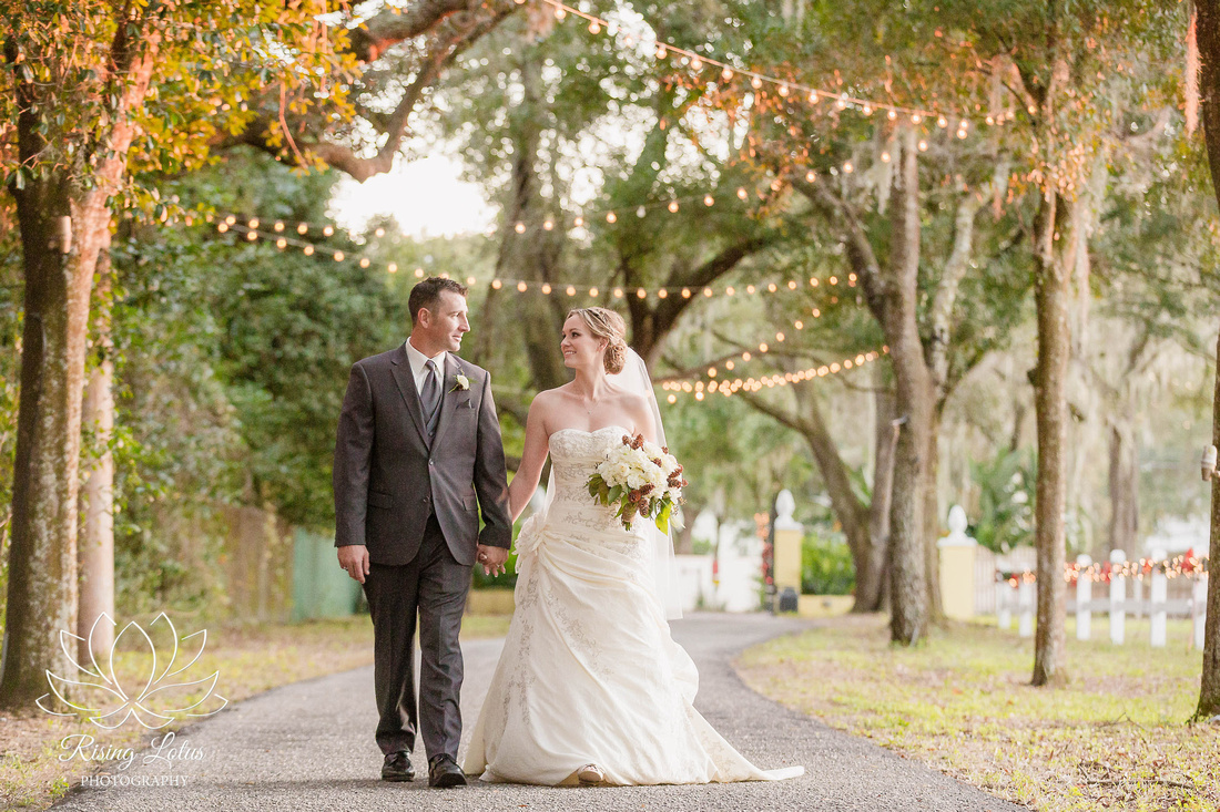 Rising lotus photography joyful woodsy estate wedding by for Discount wedding dresses tampa