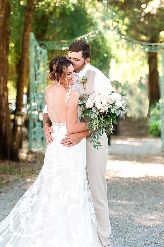 Romantic, horse ranch wedding at Lakeside Ranch in central Florida